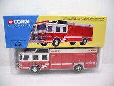 CORGI E-ONE CYCLONE II PUMPER DEMO COLORS WHITE/RED 52201 1/50 SCALE
