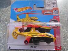 HOT WHEELS 2016 #212/250 SKY Coltello Elicottero Giallo HW Rescue caso B