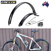 1 Pair Fender Full Length Plastic MTB/Folding Bike Mudguard Set High Strength