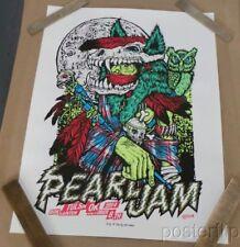 Pearl Jam Tulsa OK Glow-in-the-Dark Screenprint Poster Signed Ames Bros