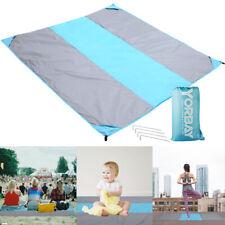 Stranddecke XXL Outdoor Picknickdecke wasserdicht 200 x 200 cm Ultraleicht