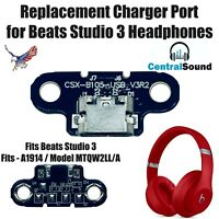 Beats By Dre Studio 3 Replacement Wireless Charger Charge Port Micro USB Part