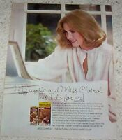 1978 vintage ad page - Miss Clairol shampoo hair color blonde lady PRINT AD