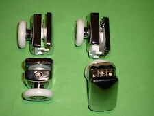 Shower Door Rollers, Wheels, Runners. 4 x SR24