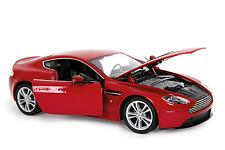 Aston Martin V12 Vantage 1:24 in weinrot ca.18cm  *NEU* orig.verp. Metallmodel