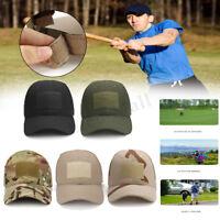 Summer Men Women Foldable Army Military Camo Visor Sports Cap Running Outdoor ~