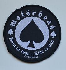 MOTORHEAD - Born To Lose - Patch - 9,5 cm - 164483