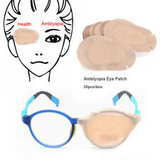 20pcs Cute Disposable Adhesive Bandages Eye Patches Pads for Kids Lazy Eye