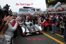 Fassler & Lotterer & Treluyer Audi R18 TDi Winners Le Mans 2011 Photograph 5