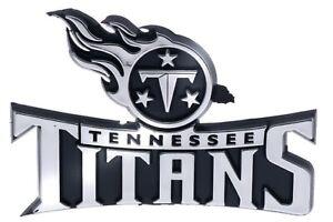 Tennessee Titans NFL Car Truck Automotive Grill Emblem Chrome Finish F3D14F