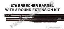 REMINGTON 870 (TACTICAL BREECHER SUPER BARREL) & +3 ROUND EXTENSION KIT (NEW)!