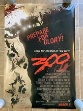 300 Original Double Sided One Sheet Movie Poster