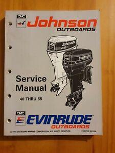 Johnson Evinrude Outboard Service manual 40THRU 55