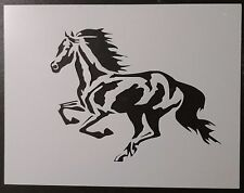 "Running Horse 11"" x 8.5"" Custom Stencil FAST FREE SHIPPING"