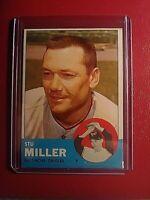 1963 Topps Baseball Card #286 Stu Miller Orioles ExMt