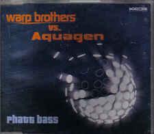 Warp brothers VS Aquagen - Phatt Bass cd maxi single