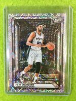 TIM DUNCAN REFRACTOR CARD JERSEY #21 SPURS SP /99 LAZER PRIZM  2019 National VIP