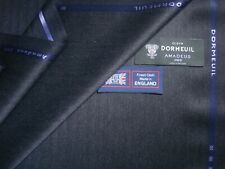 """DORMEUIL 'Amadeus 365' LUXURY WOOL FABRIC IN """"Charcoal"""" MADE IN ENGLAND - 3.4 m."""