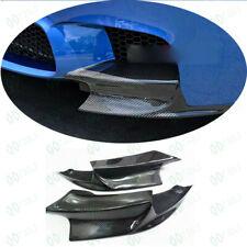 Fit 2010 to 16 BMW F10 5 Series Carbon Fiber M Sport Car Front Bumper Splitter