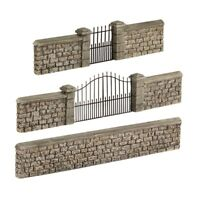 Bachmann 44-555 Stone Walls And Gates  '00' Gauge -1st Class Post