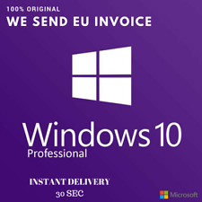 Windows 10 PRO Product Key 32/64 - Digital Key Multilanguage Original