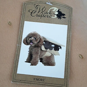 WITCH CRAFTERS Dog/Pet S'more Halloween Costume Size Medium