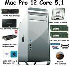 Mac Pro 12 Core 3.46GHz 128GB 1333mhz 512GB NVME 1TB SSD RX580 W/ Boot-Screen