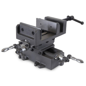Wen Benchtop Drill Press Vise Compound Cross Slide Adjustable Jaws 4.25 in.