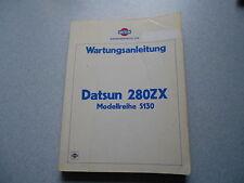 Werkstatthandbuch Reparaturhandbuch Datsun 280 ZX Modellreihe S130