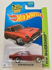 Hot Wheels Aston Martin 1963 BD5. 2015 B Case. Red.