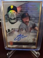 2020 topps gold label Logan Webb On Card Auto Rookie Gold Framed