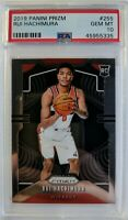 2019-20 Panini Prizm Rui Hachimura Rookie RC #255, Graded PSA 10 Gem Mint