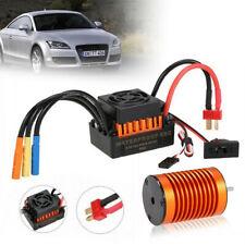 9T 4370KV Metal sin escobillas Motor +60A Esc Tarjeta Combo Coche Kit Para 1/10 RC coche carro