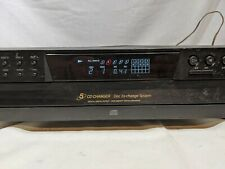 Sony 5 CD Compact Disc Multi Player Carousel Changer Home Audio CDP-CE275 #R72