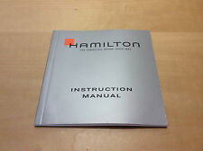 Booklet HAMILTON Instruction Manual - Watches Relojes Montres - For Collectors