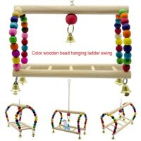 Parakeet Cage Gym Toy Bird Playground Birdcage Playstand Parrot Play Swing