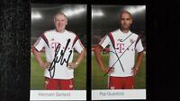 29 Autogrammkarten FC Bayern München 2014/2015 Spieler/Trainer Originalsignatur