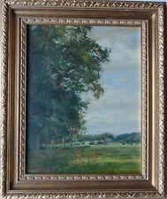Robin Craig Guthrie 1902-1971 Original Firmado Paisaje Pintura al óleo sobre lienzo