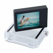 LCD Display Screen Bacpac Waterproof Housing Backdoor Cover for GoPro Hero 3+ 4