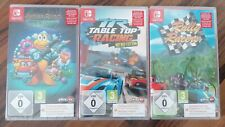 3 Nintendo Switch Spiele NEU James Pond, Table Top Racing, Rally Racing TOP Spie