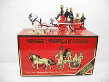 MATCHBOX MODELS OF YESTERYEAR MERRYWEATHER HORSE DRAWN STEAM FIRE ENGINE YS-46