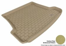 For 2003-2011 SAAB 9-3 Cargo Liner KAGU Carbon Pattern Tan All Weather Floor Mat