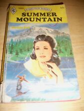 HARLEQUIN SUMMER MOUNTAIN  BY DOROTHY CORK (PAPERBACK 1971)