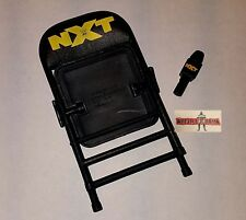 WWE ELITE NXT CHAIR and Microphone Mic wrestling figure mattel accessory lot