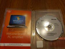 Microsoft Windows 7 Professional 64 Bit Operating System (FQC-08289)