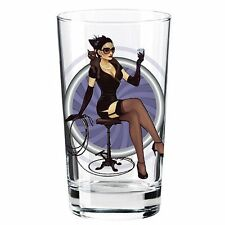 Catwoman DC Bombshell Series 'Toon Tumbler 16 Oz. Pint Glass, New, Free Shipping