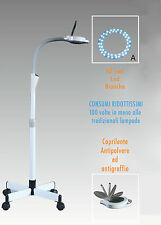 objektiv Lupe 8 Dioptrien Lampe 47 LED Labor