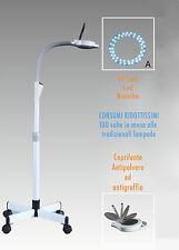 LAMPADA a LED LENTE D'INGRANDIMENTO 8 DIOTTRIE CON STATIVO ESTETISTA|LABORATORIO