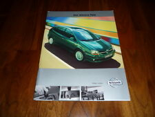 Nissan Almera Tino Prospekt 04/2001