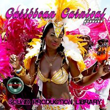 CARIBBEAN Carnival Grooves - Unique Studio Library WAV/KONTANT format on CD